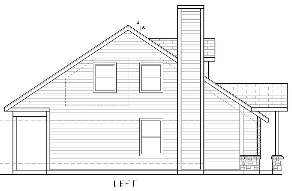 Cabin 6 Elevation Left